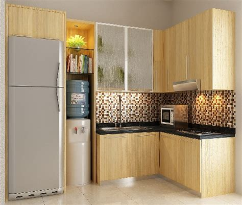 salon gantung mini minimalist kitchen set design decoration cuisine