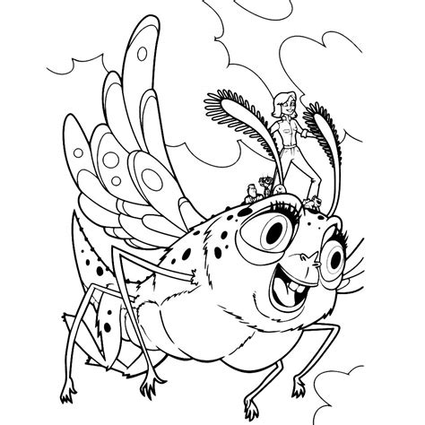 monsters vs aliens printables coloring pages