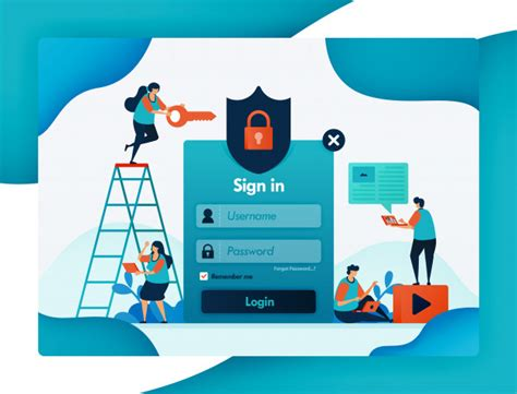 website login template  protecting user account