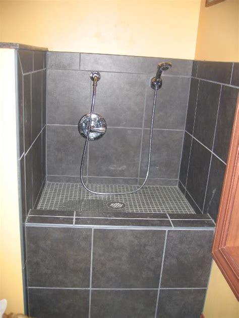Downstairs Bathroom Ideas kay s master bathroom and dog bath sycamore tile works