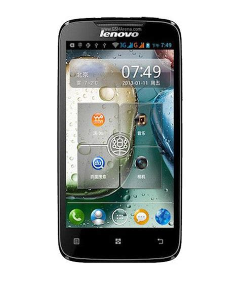Lenovo A369i lenovo a369i dual sim touch screen 4gb black price in india buy lenovo a369i dual sim touch