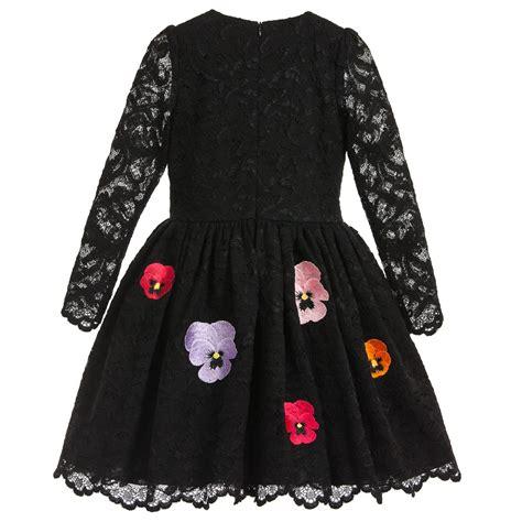 Gamis Lace Flower gaun anak anak umur 10 tahun buy grosir hitam gaun pesta untuk anak anak from