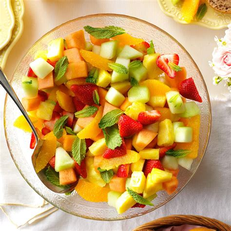 fruit bowls fresh fruit bowl recipe taste of home