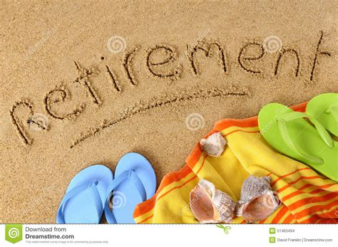 backdrop design for retirement retirement beach vacation concept stock photo image