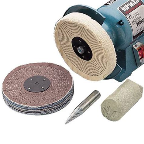 bench grinder polishing kit cbk150c 6 quot polishing kit clarke