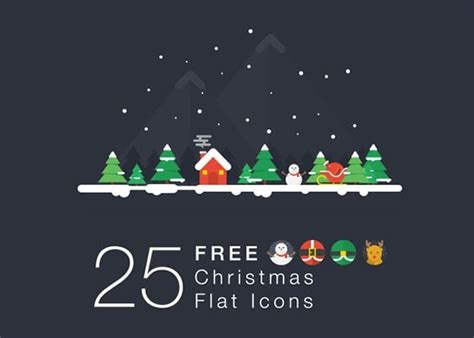 awesome collection of christmas web design freebies