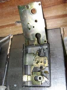 l int 233 rieur d une serrure 224 plaquer 224 cylindre europ 233 en