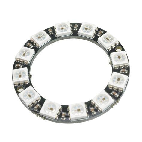 Diskon Pcb Ring 12 Led 5 Cm rgb led ring 12 bit ws2812 5050 rgb led integrated driver module for arduino t ebay
