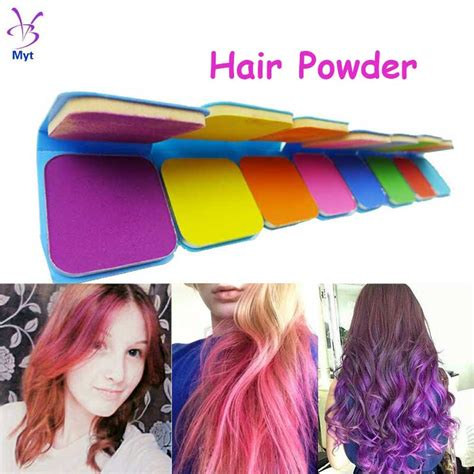 high quality hair color temporary hair dye high quality blue cake hair dye chalks