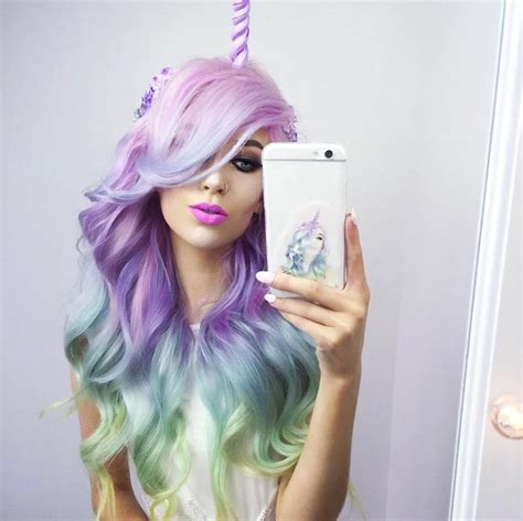 unicorn hair unicorn hair trend is a fantastical way to celebrate the