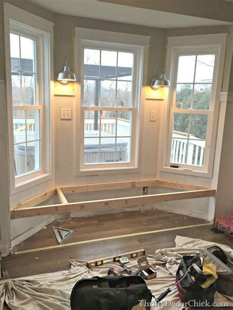 construir  banco bajo la ventana window benches diy