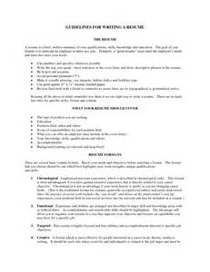 good resume qualifications examples