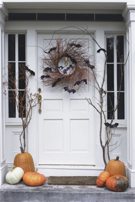 Halloween Front Door Decor Simplified Bee Front Door Hanging Decorations