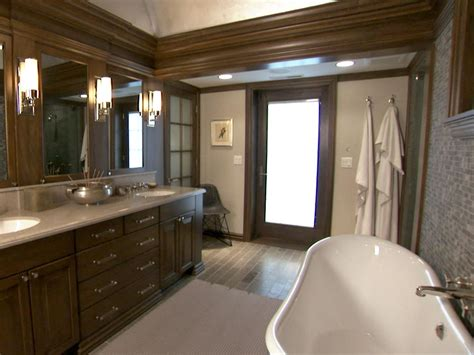 brown bathroom craftsman style this chicago en suite has the look and