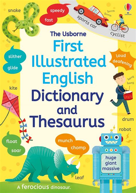 First Illustrated Dictionary And Thesaurus At Usborne