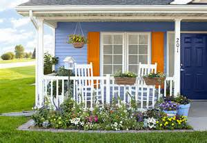 how to plant a front flower bed