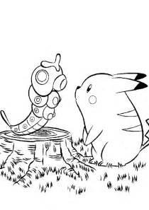 pokemon coloring pages pikachu az coloring pages