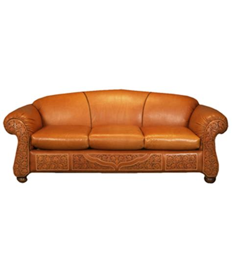 Western Sofas by Western Sofa Russet Ranch Sofa Thesofa