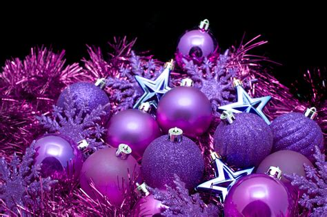 purple ornaments photo of purple decorations free images