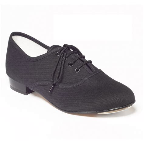 oxford style tap shoes boys black canvas oxford tap shoes the dancers shop uk