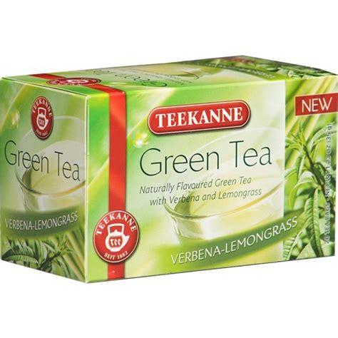 Detox Branded Lemongrass And Green Tea Blend by Green Tea Verbena Lemongrass Teekanne Ratings
