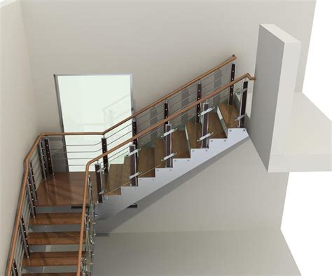 staircase banister designs steel handrail for modern stairs designs 187 home decorations insight