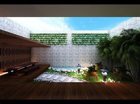 model zen garden design cgtrader