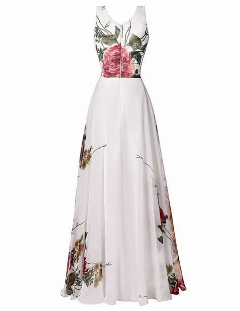 pattern elegant dress grace karin flower pattern floral prom dresses sleeveless