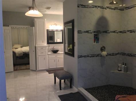 houston bathroom remodel is an en suite success