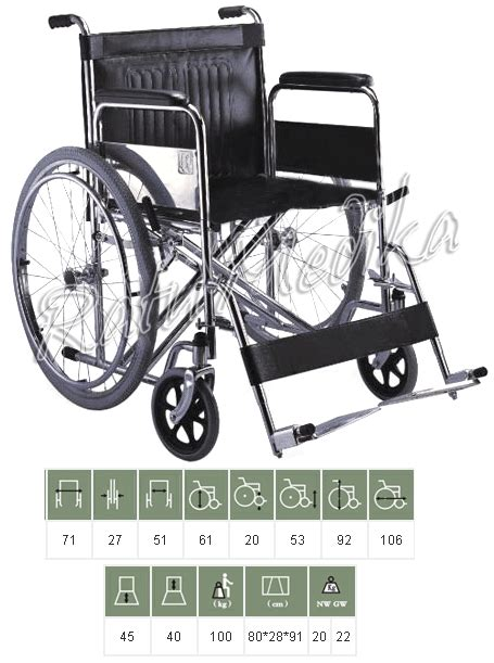 Kursi Roda Orang Tua kursi roda jumbo lebar