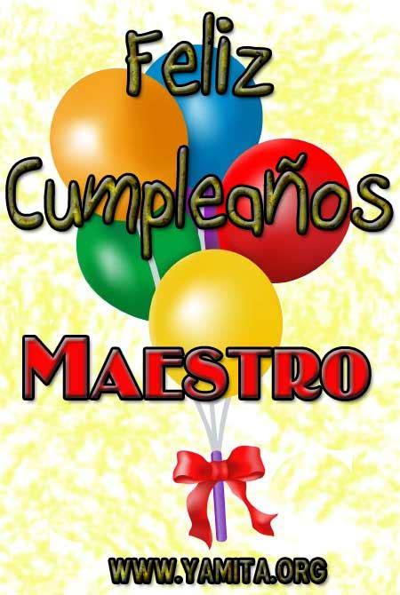 imagenes que digan feliz cumpleaños profesora felicitaciones de cumplea 241 os para una profesora