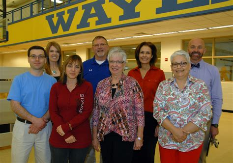 wbu recognizes employees retirees plainview daily herald