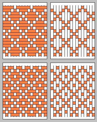 paper weaving patterns