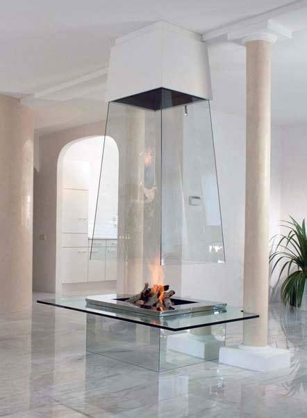 camino vetro camino in vetro trasparente o opaco
