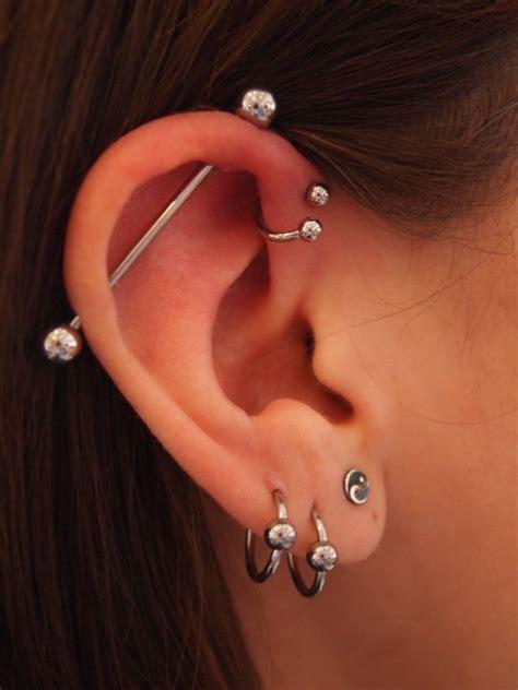 ear piercing 50 beautiful ear piercings and design