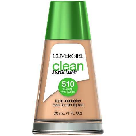 Foundation Covergirl covergirl clean sensitive skin liquid foundation