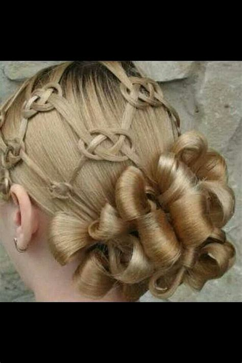 love knots hairstyle celtic knot hair hair pinterest
