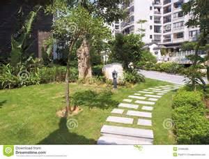 Garden Of Stock Garden Stock Photo Image 21065280