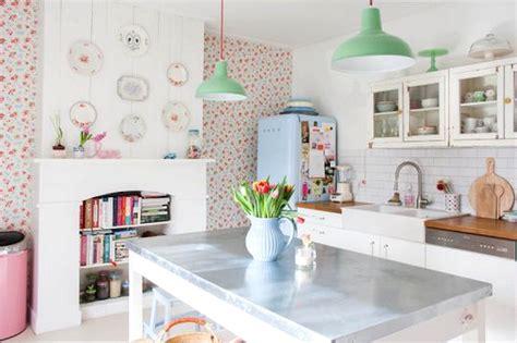 decoracion de cocinas  papel pintado