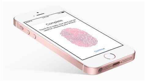 apple iphone se touchid       slower