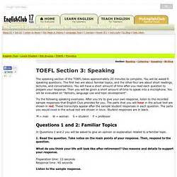 toefl speaking section practice online english courses pearltrees