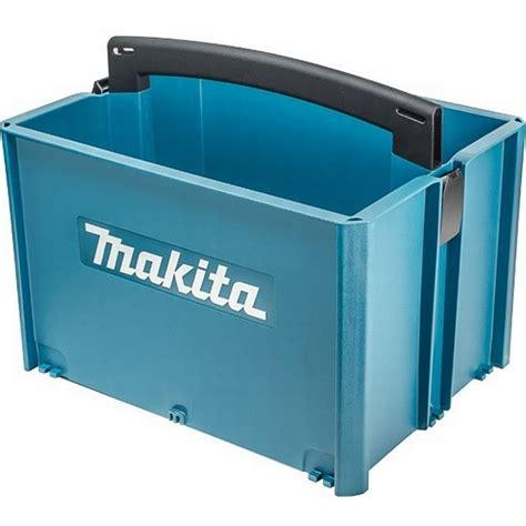 Makita P 83842 Makpac Stackable Tote Box Anglia Tool Centre