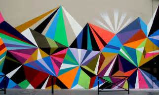 Graphic Wall Murals Quick Tips Create Geometric Wall Painting Pattern