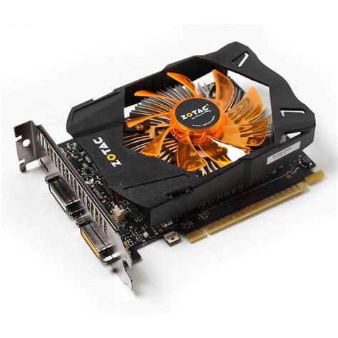Vga Zotac Gtx 1050 2gb Ddr5 Single Fan Nvidia Pci Express zotac geforce gtx 750 ti 2gb zt 70601 10m achat