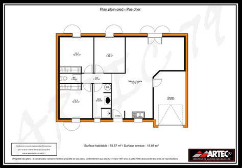 Home Design 3d Ipad Toit plan maison 3 chambres 100m2 immobilier pour tous