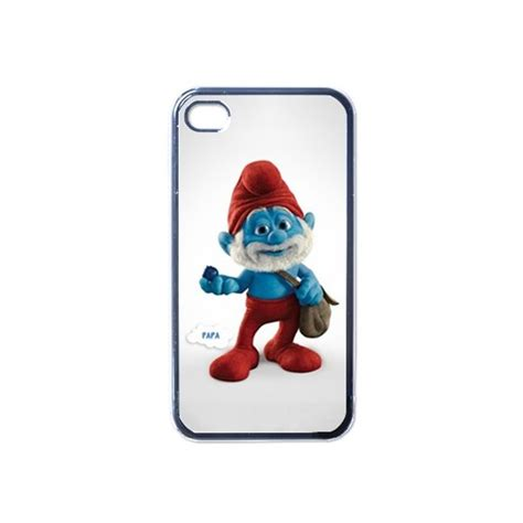 Smurf Iphone 4 4s the smurfs papa smurf apple iphone 4 4s on stuff