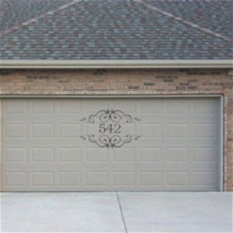Garage Door Numbers Pin By Tracey Miller On For The Home