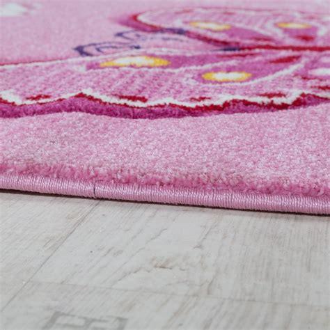 kinderzimmer teppich pink kinderzimmer teppich schmetterling pink kinder teppiche