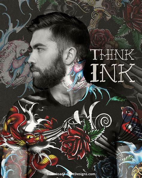 think ink tattoo think ink for t shirts t shirt design