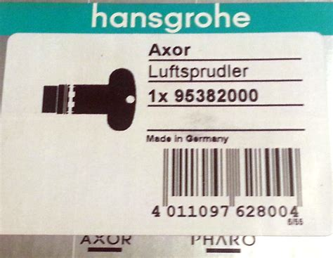 Hansgrohe Homepage by Hansgrohe Luftsprudler Axor Axor Citterio M 15 Gpm Chrom